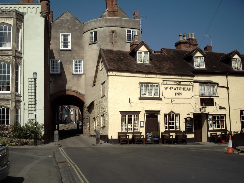 LUDLOW  ENGLAND.  --  Broad  Gate, on  the  Southside, only  remaining Gate.