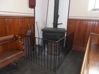 BEAMISH MUSEUM.Chapel heating..