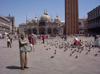 VENICE  ITALY.   St. Marks Square. in May.