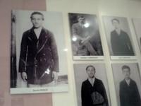 SARAJEVO.-  Photo  in  museum  of  Princip  the  assassin.