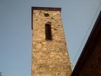 SARAJEVO,  Tower  of Old  Serbian  Orthedox  church,  near  Bascarsita  Square.