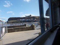 WHITBY. VIEW FROM CAFE.