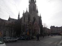 NANCY  FRANCE.  Basilica of St. Epvre,  in Place St Epvre.