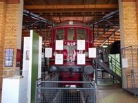 Berlin Technical museum Train from Nazi times.