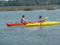 Kayaking in Hilton Head