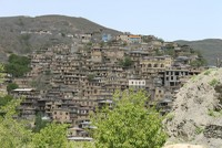 This is the beautiful hillside village of Kang just outside Mashad