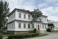 Russian Colonial Merchants House in Karakol