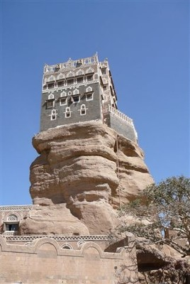 Dar al Hajjah .. the Imam's palace at Wadi Dhahr, a short ride from Sanaa.