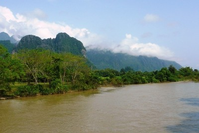 On the way to Tham Jang cave.