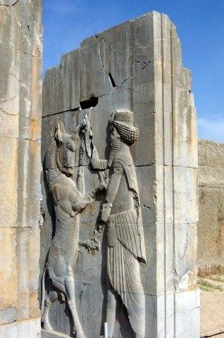 Persepolis was burnt to the ground by Alexander the Great in 330 BC, either accidentally or in retaliation for the Persian destruction of Athens.