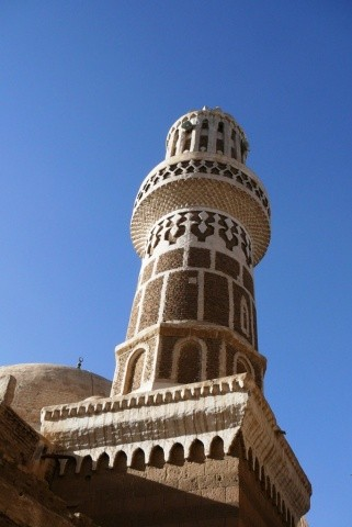 Minaret in the old city.