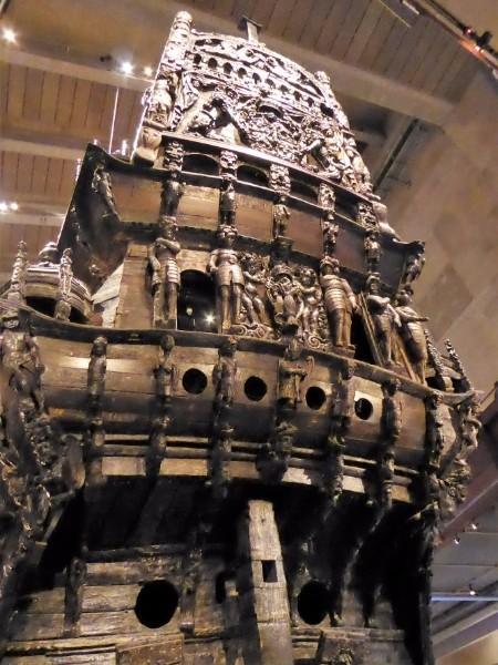 The mighty Vasa warship.