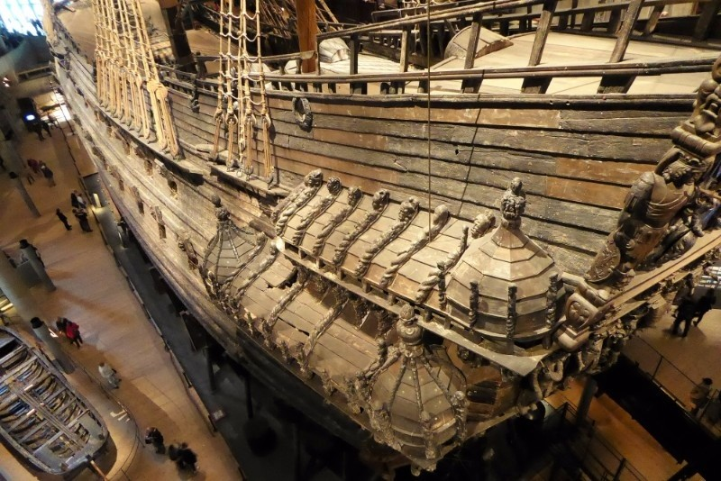 The mighty Vasa warship.