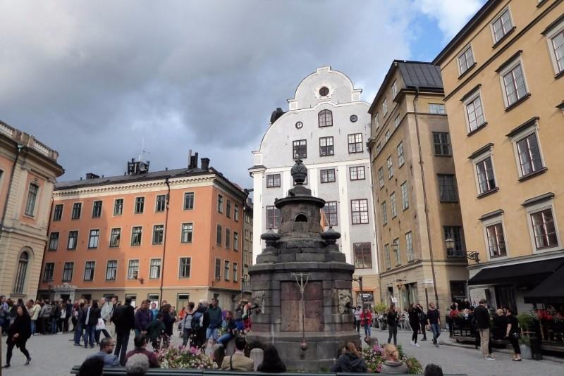 Around Gamla Stan, Stockholm's old town.