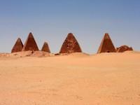 The Egyptian ruins at Jebel Barkal.