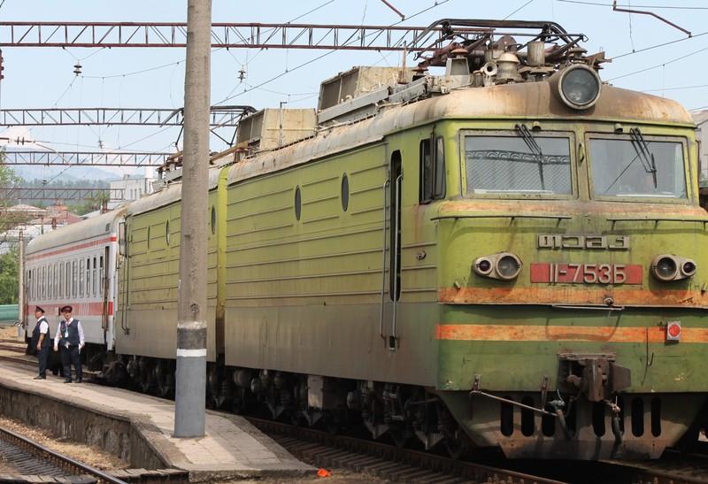 Antique train to Tbilisi