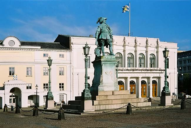 Gustav Adolf Square in Gothenburg