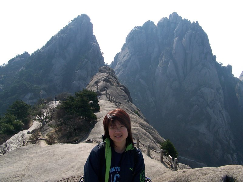 Squareface in HuangShan