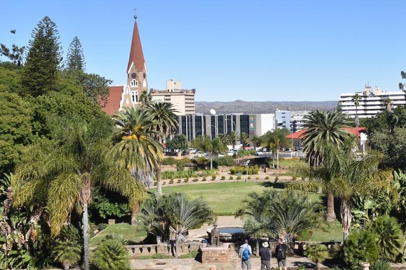 View of Christ Church Across Parliament Gardens