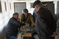 Panfilov Park Chess Players