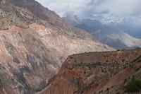 Fann Mountains Near Iskanderkul Lake