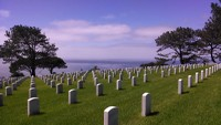 cemetery with a view!