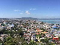 Overlooking the town of Songkhla