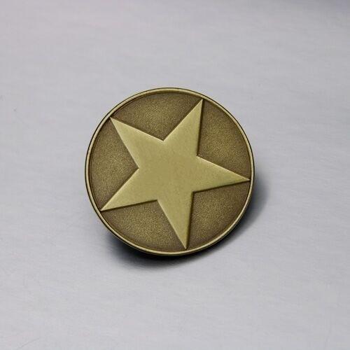 Pentagram Antique Pins