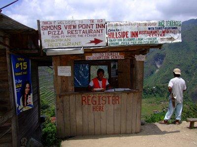 Banaue entrance