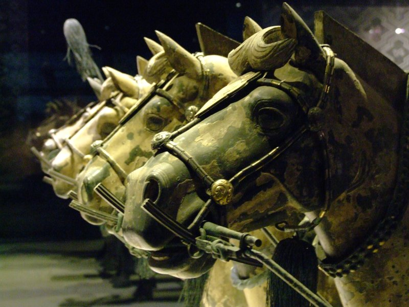 Terracotta Horses, from the terracotta warrior collection