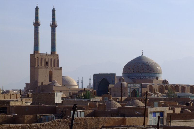 Yazd city view