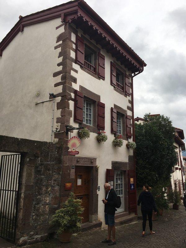my albergue - Gîte d'etape Azkorria - St. Jean Pied de Port