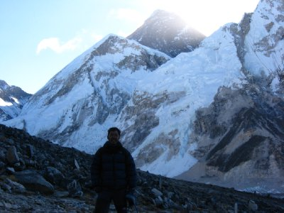 View of Everest from Kala Pattar 2