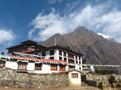 Tengboche during Descent