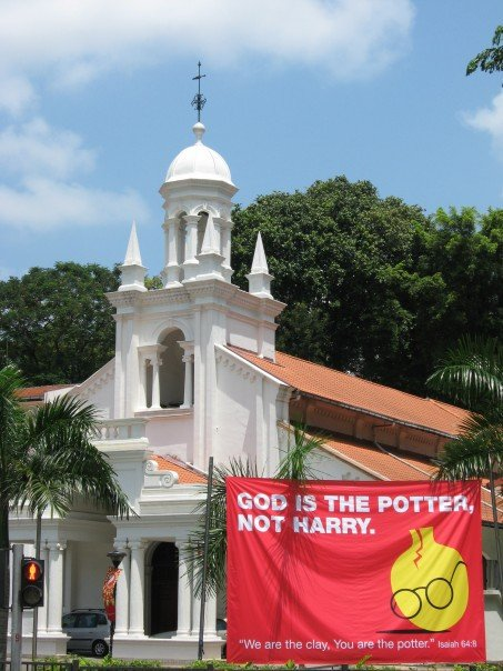Harry Potter in Singapore