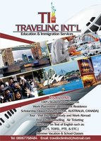 Travelinc International work and study abroad 08067768484