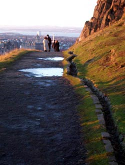 View from Crags, Edinburgh