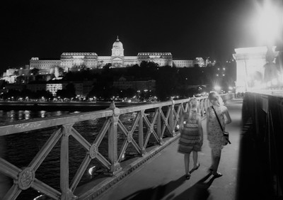 38. Buda Castle at Night