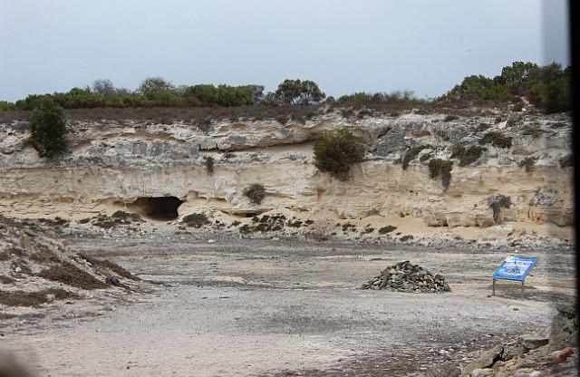 Robben Island: Limestone mine
