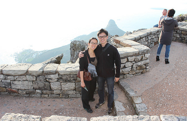 Table Mountain: At the top