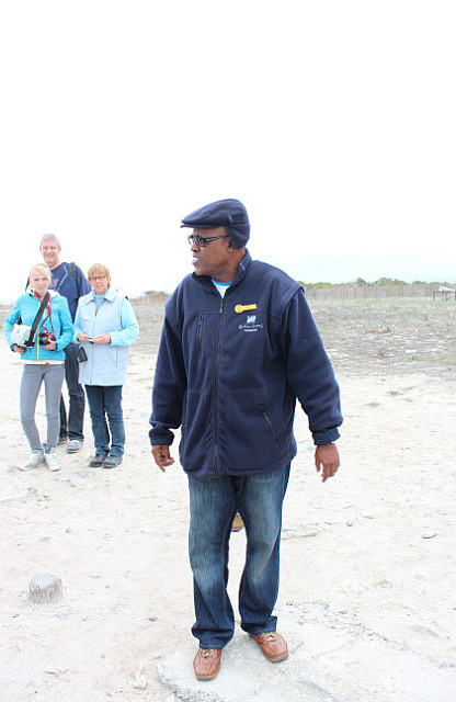 Robben Island: Our tour guide