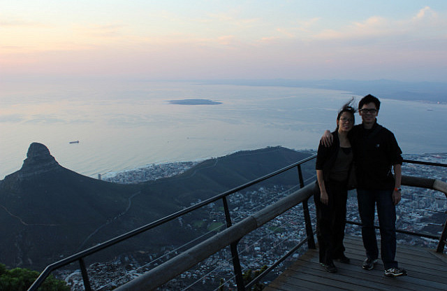 Table Mountain: View of the cape