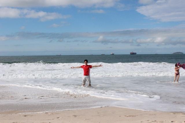 In the Atlantic Ocean