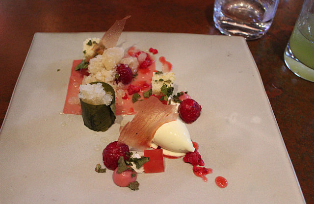 "Test Kitchen: ""Raspberries and Figs"""