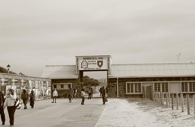 Robben Island: Entrance