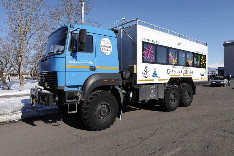 Overland truck