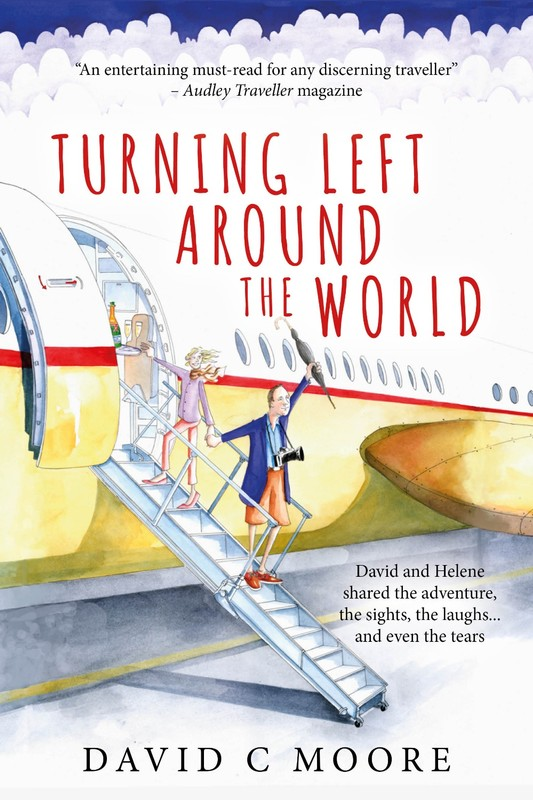 Front Cover of 'Turning Left Around the World'