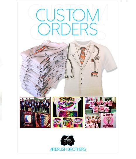 Airbrush Quince Shirts & Airbrush Brothers