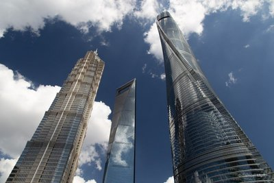 The 3 tallest skyscrapers in Shanghai