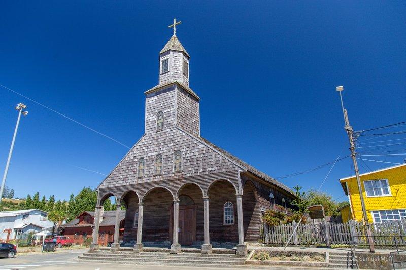 Iglesia Santa Maria de Loreto in Achao